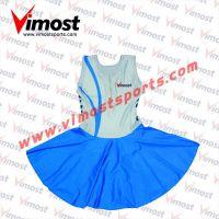 Blue netball dress
