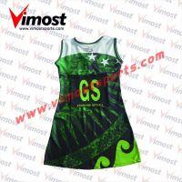 Custom sublimation netball dress