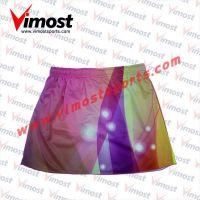 Custom sublimation netball skirt