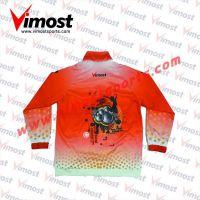 Custom orange windproof jacket