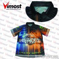 custom team racing shirt/crew shirt