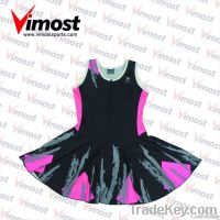 hot sale 100% polyester netball dress