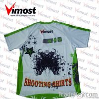 100%polyester custom blank/pattern T-shirt