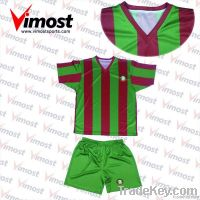 custom soccer uniform with sublimation