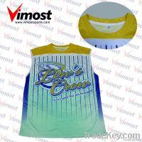 OEM custom baseball jersey with sublimation