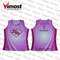 hot sale custom running singlet/vest