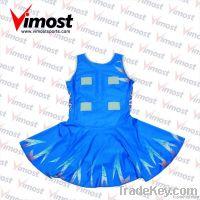 High quality custom beautiful netball dress
