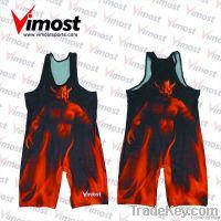 hot sale custom wresting singlet/shirt
