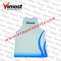 Custom sublimation singlets/vest