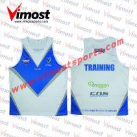 Custom sublimation running vest