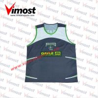 Dye-sub running vest