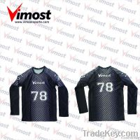 custom volleyball shirt with sublimation