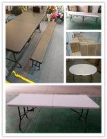 Foldable plastic Table