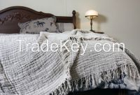 linen throws