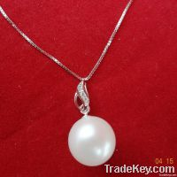 Fashion pearl pendant with 9-10mm