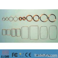 Customized IC / ID Card Rfid Coil & Telecoil with Chips