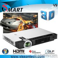 Windows 7 OS 3D all in one dlp projector 3D projector
