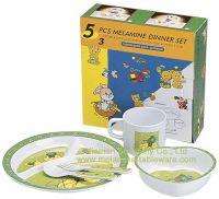 Melamine Children's Dinner Set