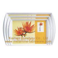 Melamine Tray plate tableware dinnerware kitchenware pet bowl ashtray