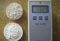Negative ion powder