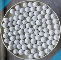Calcium sulfite pellets