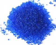Color changing silica gel