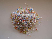 Silicone plastics scrap