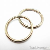 Fashion metal split key ring