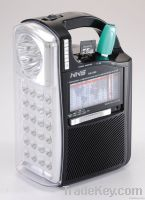 Torch radio with USB MP3 player