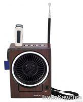 fm radio with usb sd card