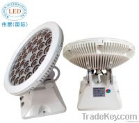 Round Rotating LED Wall Washer