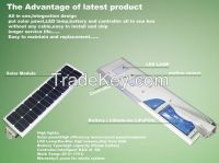 2014 New Design Integrated Solar Garden Light