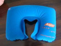 PVC inflatable neck pillow travel pillow