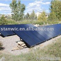 Solar ground tracking system