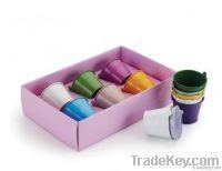 Galvanized Colorful Mini Bucket with Powder Coating/Gift Bucket