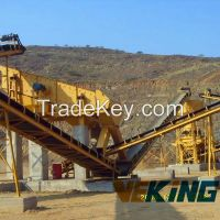 50-800 t/h stone quarry crushing production line in mining