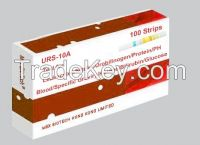 one-step urinalysis reagent rapid test URS-10A