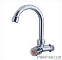 chrome plastic faucet