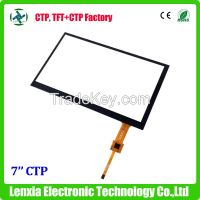I2C interface 7inch capacitive touch screen panel