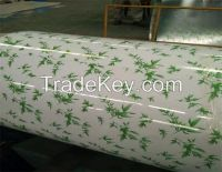 Wooden /flower/marble/brick/camouflage color coated steel coil