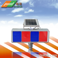 the newest LED solar traffic road safety flashing and warning light
