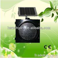 2013 specialized production 300mm led solar traffic yellow flashing li