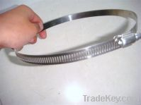 AISI 316L American Style Industrial Stainless Steel Sring Hose Clamp