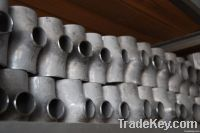 AISI 303 stainless steel pipe fitting tee with stock made in China