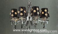 Wrought Iron crystal chandelier light-Modern chandelier-dinning light