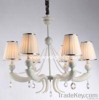 Modern Iron crystal chandelier-crystal pendant lamp-project light