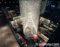 Project crystal /big deluxe ceiling  lamp/project chandelier