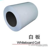 Magnetic whiteboard surface steel sheet for teaching board