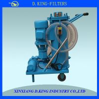 LUC-63 high flow rate recycle machine oil filter cart