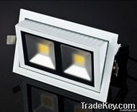 Square LED downlights